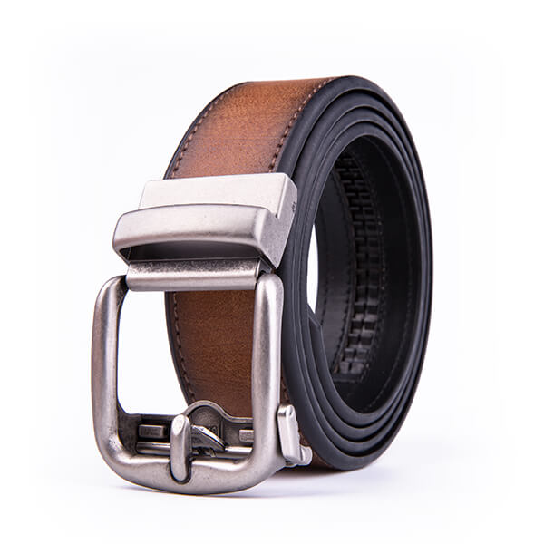 Casual Jeans Multicolor PU Leather Belt Automatic Leather Belt