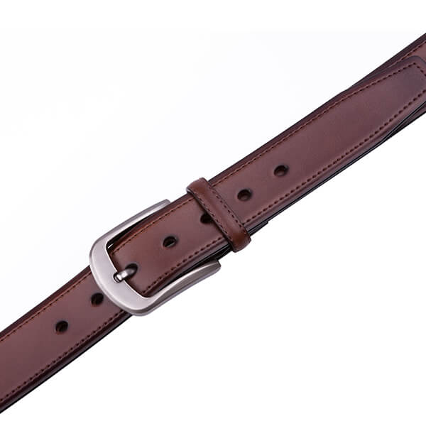 Wide Retro Casual Vintage Mens Genuine Leather Belt