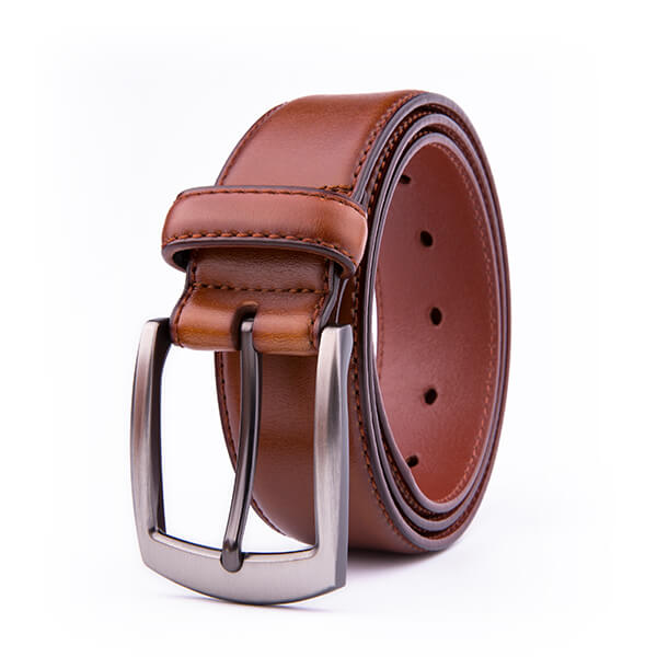 Wide Black Dress Full Grain Mens Leather Belt