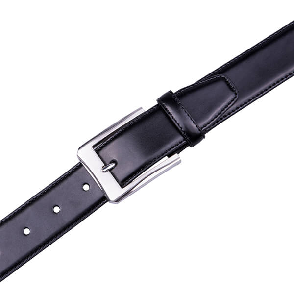 Dress Black Genuine Leather Belt For Men