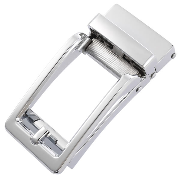 Mens Automatic Silver Belt Buckles