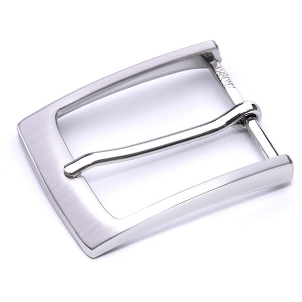 Silver Alloy Pin Buckles for Men Leather Belts