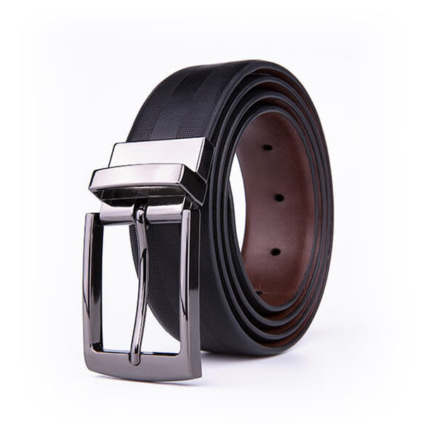 Adjustable Dress Stretch Belt PU Leather Belt