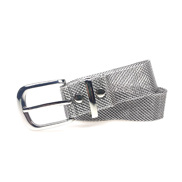 Womens Mesh Motorcycle Fashion Silver Western Chain Belts