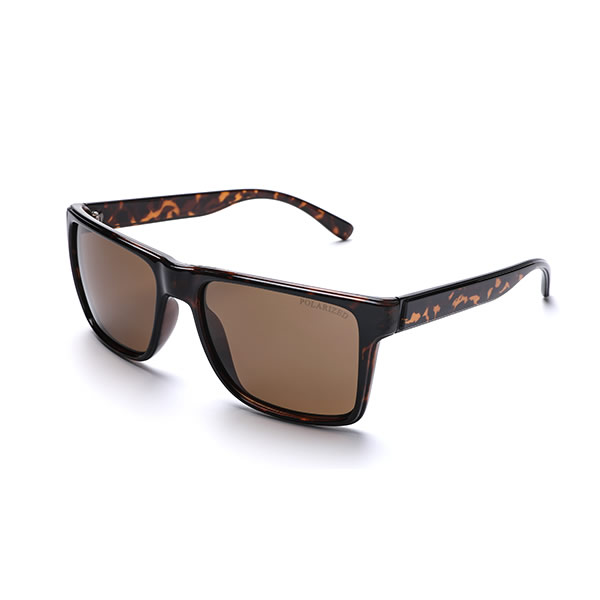 Unisex Plastic Square PC Frame Sunglasses Polarized Anti UV Ray