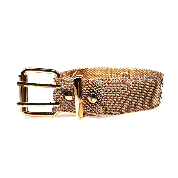 Womens Fashion Gold Metal Mesh Western  Punk Chain Belts for Jeans