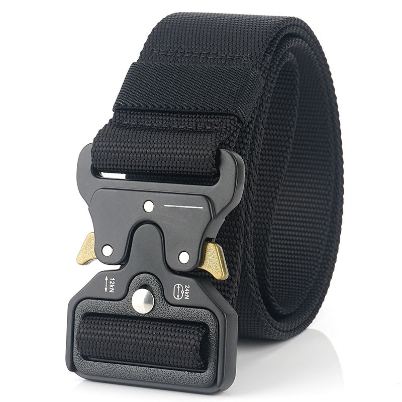 Military Tactical Nylon Mens Durable Outdoor Quick Release Buckle Army Belts