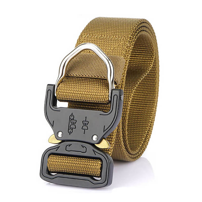Tactical Rescue Work Solid Fabric Nylon Outdoor Belt