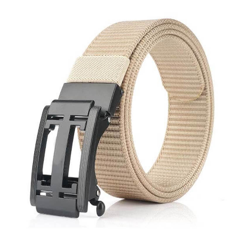 Casual Adjustable Automatic Outdoor Nylon Durable Mens Belt