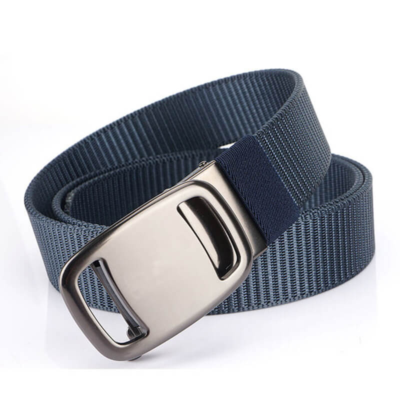 Dress Casual Automatic Outdoor Nylon Belts for Men