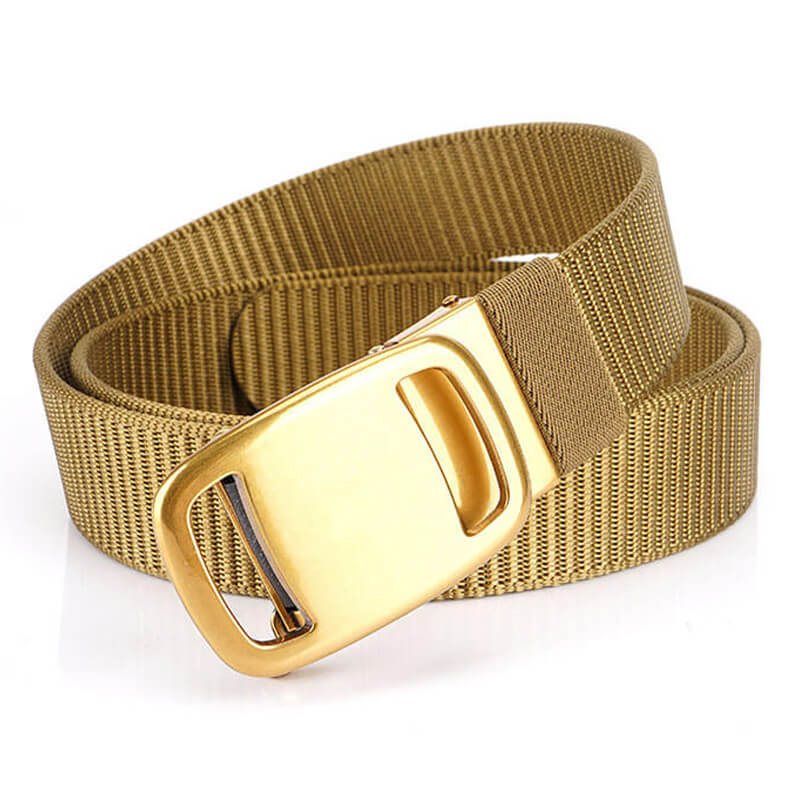 Casual Multicolor Nylon Outdoor Automatic Work Mens Belt