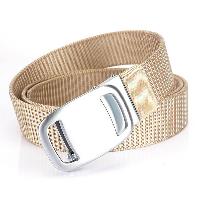 Nylon Men Outdoor Military Work Outdoor Automatic Quick Release Belt